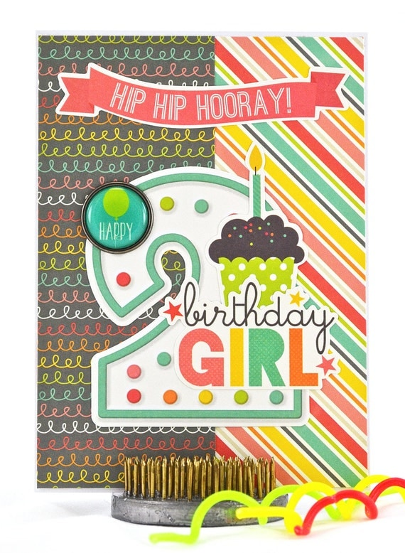 2nd Birthday Card Toddler Birthday Card Homemade Birthday – 2nd Birthday Cards