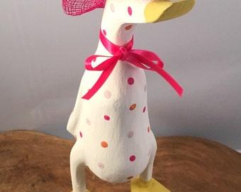 Amelia's Sunshine Wooden Duck