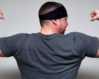 Men's Headband | Sports Headband | Workout Headband | Fitness Headband | Athletic Headband | Sweat headband
