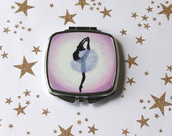 Dandelion Ballerina Compact Mirror