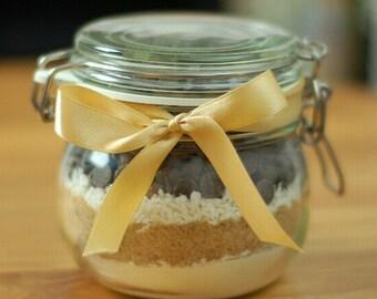 Choc Nut Cookie Mix in a Jar
