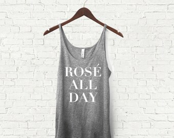 Rose All Day - Women's Slouch Tank