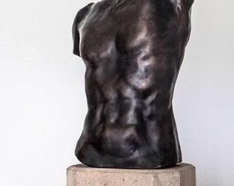 Male Torso - Bronze Cast