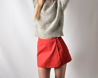 Cropped Camping Vintage Sweater