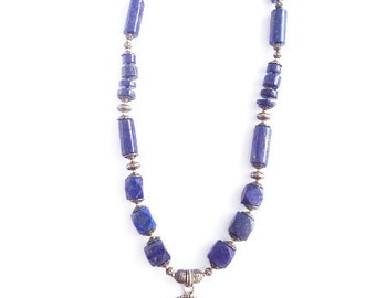 Queen of the Nile Collection - Lapis Lazuli Necklace