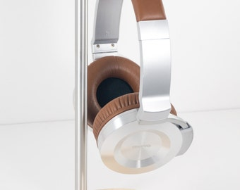 Modern Headphone Stand | PERCH V1.0 | Solid Maple & Aluminum |