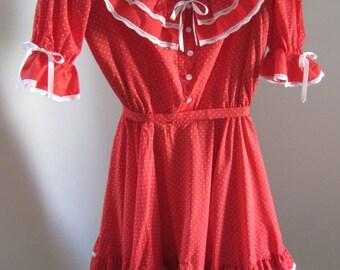 Square Dance Dress, Partners Please, Vintage
