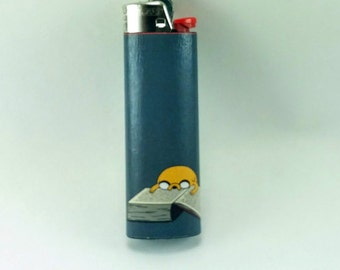 Custom Adventure Time Jake the Dog Lighter