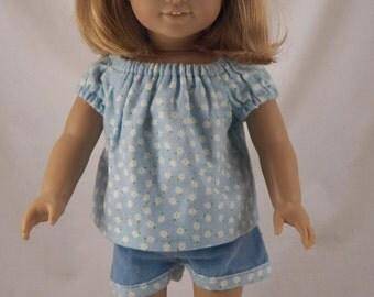 "18"" Doll American Girl Summer Pajamas"