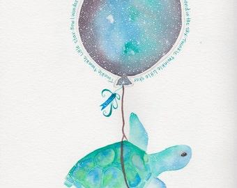 Galaxy Turtle Baby
