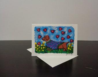 Dachshund Greeting Cards