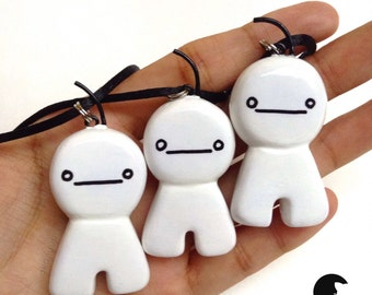 Cryaotic (Cry) - Sup Guy Charm Necklace (ChaoticMonki)