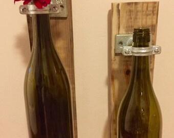 Wine Vase Wall Mount