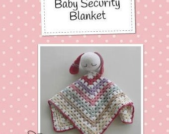 Crochet Pattern, Security blanket pattern, Crochet security blanket, amigurumi toy, crochet toy