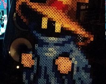 Final Fantasy Black Mage Perler Bead Design