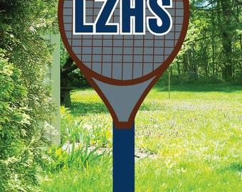 Tennis Booster Yard Sign
