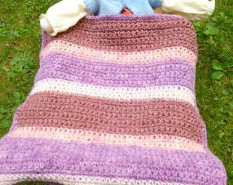 wool crocheted doll blanket wool blanket for doll