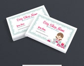 Sewing Business Cards - Business Card Designs - Business Card Design - Printable -  Sewing 6