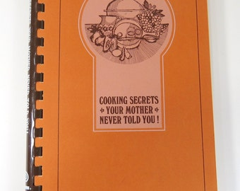 Lawry's  Cookbook, Cooking Secrets Your Mother Never Told You, Vintage Recipe Book, Fish Pork Lamb, Appetizers, Soups, Use Seasonings
