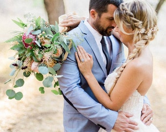 Cherry Blossom Wedding Hair Pins, Wedding Hair Pins, Floral Hair Pins - CHERRY BLOSSOMS