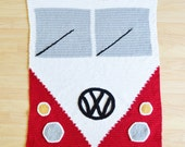 Crochet VW Bus Blanket Pattern