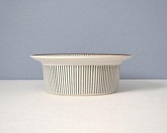Vintage Gustavsberg Stig Lindberg Spisa Ribb Large Round Bowl
