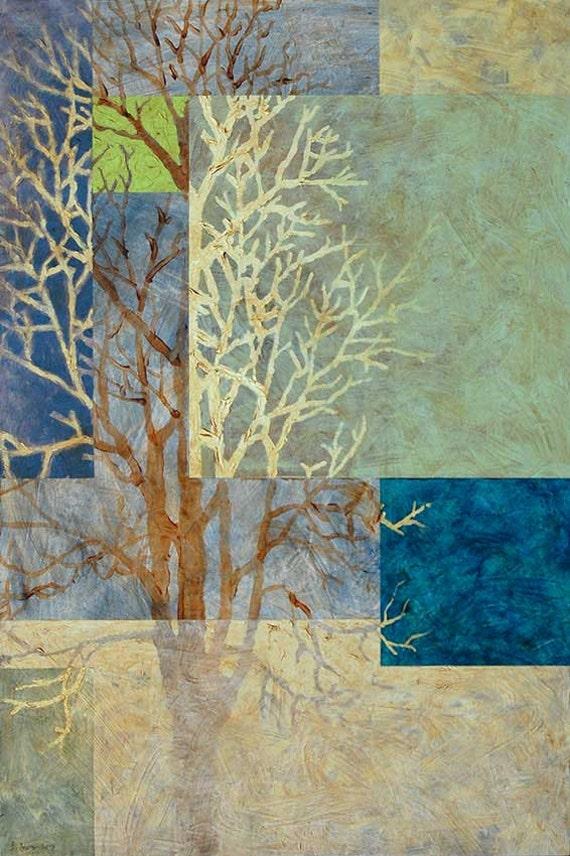 Tree Silhouette: Winter