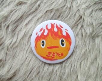 Calcifer badge