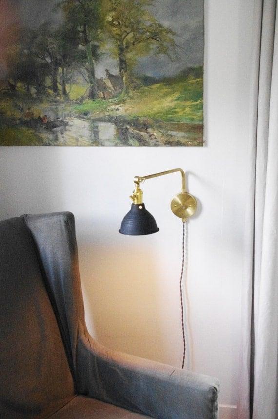 180 Degree Stocky Swivel Reading Lamp Mid Century By