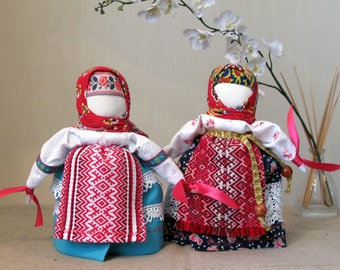 Traditional folk Slavic doll