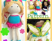 Crochet Fairy Doll Pattern by Tootylou