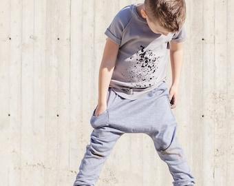 Toddler Boy Clothes - Harem Pants Kids <<8 Days Delivery To US>> Kids Harem Pants, Kids Clothes, Toddler Clothes, Toddler Harem Pants -Denim