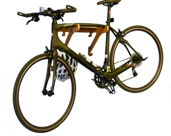Bamboo Bike Rack  | Bike Shelf - The Rackcycle