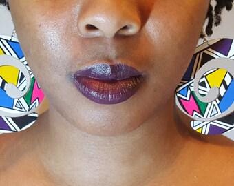 Ndebele Spiral Earrings||African Earrings||Country Jewelry||Africa||African Jewellery||Adinkra Jewellery||Earrings