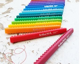 Artline Drawing Pens- Fine Tip Colored Marker Set- Connectable- Artstix- Handlettering Set- Fine Point Pens- Children's Art- .5 mm Pens