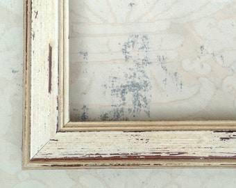coastal white picture frame 4x44x65x78x88x1085x11 - Distressed White Picture Frames