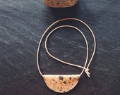 The Nomad Necklace   Hand-dyed leather necklace
