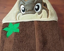 Land Before Time Hooded Towel Littlefoot Cera