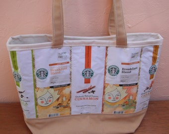 Yellow Coffee Lover Tote Shoulder Bag Barista Gift Drinker Unique Gift Every Day Tote Bag Gift for Women