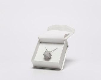 Platonic necklaces / Icosahedron - concrete necklace, geometric concrete necklace, concrete jewelry, modern jewelry, contemporary jewelry