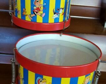 Vintage Drums for Children