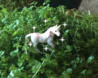 Fairy garden, fairy tale, fairy unicorn, micro mini unicorn, TINY unicorn, miniature unicorn