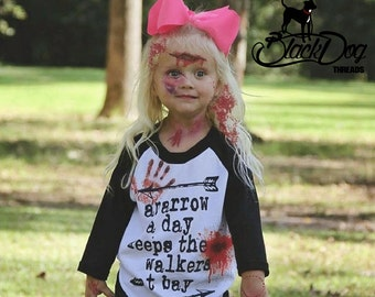 The Walking Dead Shirt, Walking Dead Shirt for Kids, Daryl Dixon Shirt, Arrow a Day shirt, Zombie Shirt, TWD, Rick Grimes,