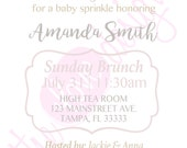 RESERVED FOR DANIELLE* String Lights Baby Sprinkle Invitation