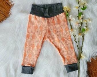 Baby Leggings + Modern Leggings + Baby Girl Shower Gift + Gender Neutral + Boy Girl  + Infant + High Quality