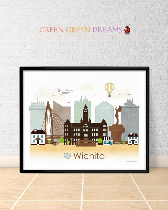 home decor stores in wichita ks wichita poster print wall printable by greengreendreams 13372