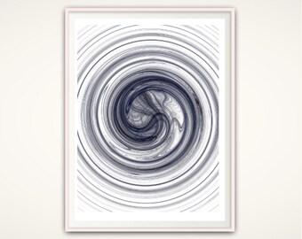 Circle Print - Circle Wall Art, Circle Art, Minimalist Poster, Abstract Print, Geometric Wall Art, Contemporary Wall Art, PRINTABLE Wall Art
