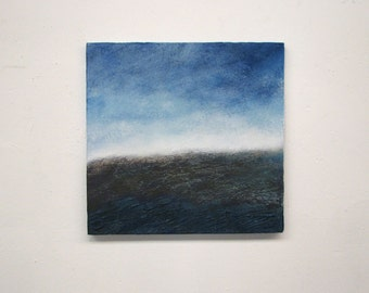 original painting, landscape, abstract painting, wall painting, square painting, modern landscape
