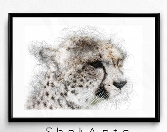 Cheetah Print, Safari Baby Nursery, Jungle Zoo Safari, African Safari, Zoo Prints, Cheetah Print Decal, Cheetah Print Vinyl, Cheetah Decal