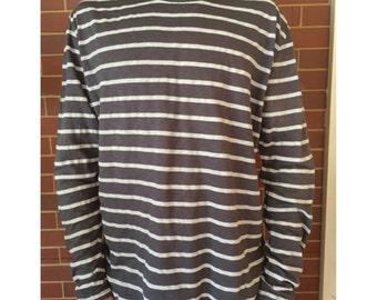 Long Sleeve Striped Tshirt